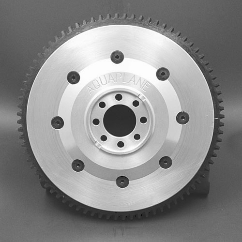 Aquaplane aluminium flywheel with ring gear